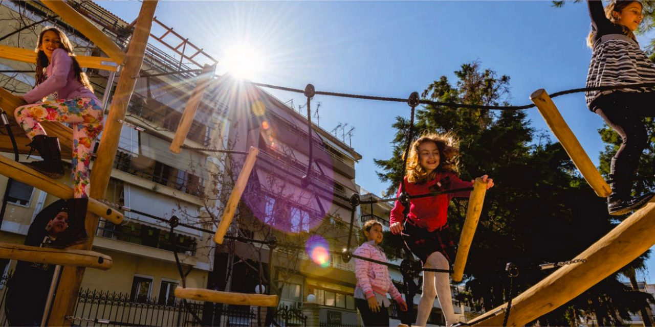 URBAN OASES: MODEL NATURE PLAYGROUNDS IN ATTICA AND ACHAEA