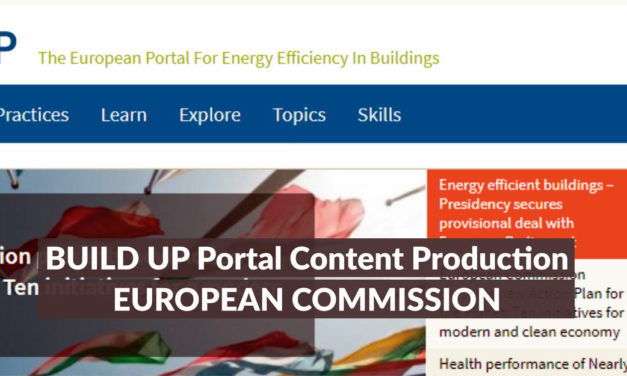 BUILD UP: THE EUROPEAN PORTAL FOR ENERGY EFFICIENCY IN BUILDINGS