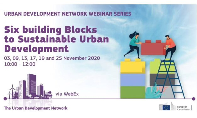 UDN WEBINARS: SIX BUILDING BLOCKS TO SUSTAINABLE URBAN DEVELOPMENT